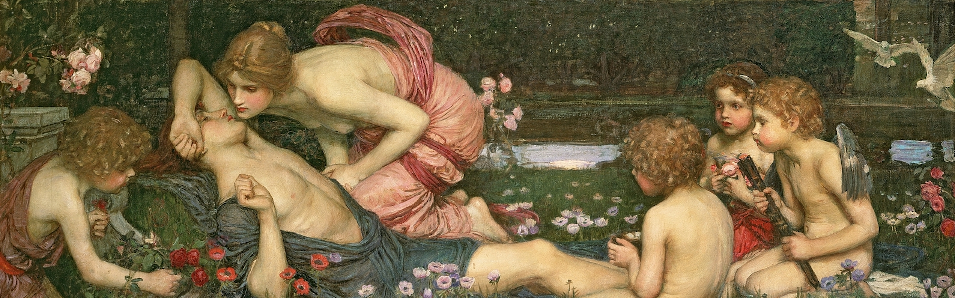 Waterhouse,_John_William_-_The_Awakening_of_Adonis